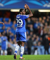 FUSSBALL   CHAMPIONS LEAGUE   SAISON 2013/2014   Vorrunde  in London FC Chelsea - FC Schalke     06.11.2013 Samuel Eto o (FC Chelsea)