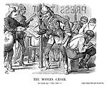 "The Modern Caesar. Sir Garnet (loq.) ""Veni, vidi""— [Enter Prince Teck with the post-bag."