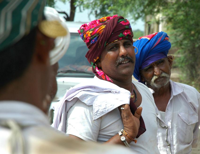 Maldhari men look more like pirates than shepherds..Michael Benanav - mbenanav@gmail.com