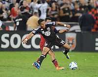 D.C. United midfielder Andy Najar (14)  D.C. United defeated Real Salt Lake 4-0 at RFK Stadium, Saturday September 24 , 2011.