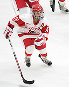 Jillian Kirchner's (BU - 18) goal made it 4-1 BU in the third period. - The Boston University Terriers defeated the visiting University of Windsor Lancers 4-1 in a Saturday afternoon, September 25, 2010, exhibition game at Walter Brown Arena in Boston, MA.