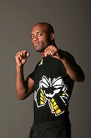 "Anderson ""The Spider"" Silva in Montreal, CA for UFC 97"
