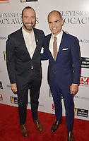 HOLLYWOOD, CA - SEPTEMBER 16: Tony Hale and Michael Kelly attend The Television Industry Advocacy Awards benefiting The Creative Coalition hosted by TV Guide Magazine & TV Insider at the Sunset Towers Hotel on September 16, 2016 in Hollywood, CA. Credit: Koi Sojer/Snap'N U Photos/MediaPunch