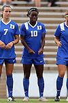21 August 2015: Duke's Toni Payne. The Duke University Blue Devils played the Fresno State Bulldogs at Fetzer Field in Chapel Hill, NC in a 2015 NCAA Division I Women's Soccer game. Duke won the game 5-0.
