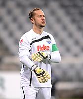 Fussball 2. Bundesliga:  Saison   2012/2013,    16. Spieltag  TSV 1860 Muenchen - SC Paderborn  27.11.2012 Torwart Lukas Kruse (SC Paderborn 07)