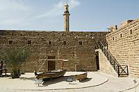 United Arab Emirates, Dubai, Dubai Museum, interior courtyard