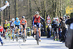 The breakaway group climb of La Houpe during the 60th edition of the Record Bank E3 Harelbeke 2017, Flanders, Belgium. 24th March 2017.<br /> Picture: Eoin Clarke | Cyclefile<br /> <br /> <br /> All photos usage must carry mandatory copyright credit (&copy; Cyclefile | Eoin Clarke)