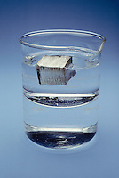 LITHIUM FLOATS ON IMMISCIBLE MINERAL OIL AND WATER<br />