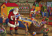 Christmas - Classical Santas paintings