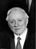 """Associate Justice of the United States Supreme Court William O. Douglas photographed at the Supreme Court in Washington, D.C. on Monday, April 24, 1972..Credit: Benjamin E. """"Gene"""" Forte / CNP"""