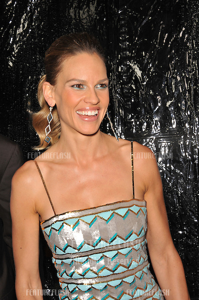 """Hilary Swank at the premiere of her new movie """"Conviction"""" at the Academy of Motion Picture Arts & Sciences in Beverly Hills..October 5, 2010  Los Angeles, CA.Picture: Paul Smith / Featureflash"""