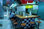Costa Rica, San Jose, Central Market, Lunch Counter