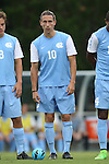 12 September 2014: North Carolina's Andy Craven. The University of North Carolina Tar Heels hosted the Pittsburgh University Panthers at Fetzer Field in Chapel Hill, NC in a 2014 NCAA Division I Men's Soccer match. North Carolina won the game 3-0.