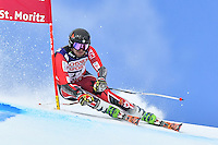February 17, 2017: Phil BROWN (CAN) competing in the men's giant slalom event at the FIS Alpine World Ski Championships at St Moritz, Switzerland. Photo Sydney Low