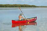 Canoeing On Florida Bay