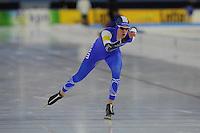 SCHAATSEN: HEERENVEEN: 05-02-2017, KPN NK Junioren, Junioren B Heren 3000m, Jesse Stam, ©foto Martin de Jong