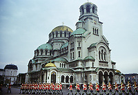 Alexander Nevsky Cathedral in Sofia, Bulgaria, Eastern Europe