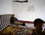 Last Albanian community in Presovo Valley enclave, Serbia, 2006.