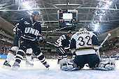 Dalton Speelman (UNH - 10), John Henrion (UNH - 16), Mike Johnson (Notre Dame - 32) - The University of Notre Dame Fighting Irish defeated the University of New Hampshire Wildcats 2-1 in the NCAA Northeast Regional Final on Sunday, March 27, 2011, at Verizon Wireless Arena in Manchester, New Hampshire.