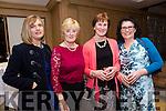 Enjoying the Lee Strand Social at Ballygarry House Hotel on Saturday were Ann Savage, Sheila Hanafan, Kathleen Godley, Rita Henry
