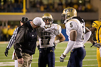 01 December 2007: Aaron Berry (17)..The Pitt Panthers upset the West Virginia Mountaineers 13-9 on December 01, 2007 in the 100th edition of the Backyard Brawl at Mountaineer Field, Morgantown, West Virginia.
