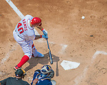 24 July 2016: Washington Nationals catcher Wilson Ramos in action against the San Diego Padres at Nationals Park in Washington, DC. The Padres defeated the Nationals 10-6 to take the rubber match of their 3-game, weekend series. Mandatory Credit: Ed Wolfstein Photo *** RAW (NEF) Image File Available ***