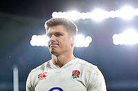 Owen Farrell of England looks on after the match. RBS Six Nations match between England and Ireland on February 27, 2016 at Twickenham Stadium in London, England. Photo by: Patrick Khachfe / Onside Images