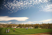 Tiger Woods, photographed in Marana, Arizona, February, 2008. Photograph by Darren Carroll.