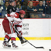 Brett Hartung (Bentley - 10), Desmond Bergin (Harvard - 37) - The Harvard University Crimson defeated the visiting Bentley University Falcons 5-0 on Saturday, October 27, 2012, at Bright Hockey Center in Boston, Massachusetts.