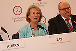 Inter Action Council Press Conference.<br /> 20.10.14<br /> Celtic Manor Resort<br /> &copy;Steve Pope-FOTOWALES