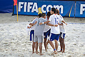 Japan team group (JPN), SEPTEMBER 02, 2011 - Beach Soccer : FIFA Beach Soccer World Cup Ravenna-Italy 2011 Group D match between Japan 2-3 Mexico at Stadio del Mare, Marina di Ravenna, Italy, (Photo by Enrico Calderoni/AFLO SPORT) [0391]