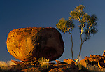 Devil's Marbles are called the 'Eggs of the Rainbow Serpent' by the Aborigines