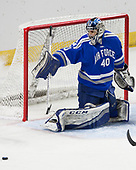 Shane Starrett (AFA - 40) - The Harvard University Crimson defeated the Air Force Academy Falcons 3-2 in the NCAA East Regional final on Saturday, March 25, 2017, at the Dunkin' Donuts Center in Providence, Rhode Island.