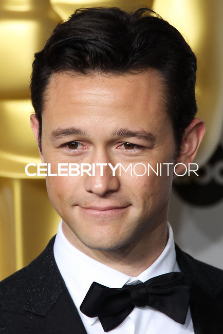 HOLLYWOOD, LOS ANGELES, CA, USA - MARCH 02: Joseph Gordon-Levitt at the 86th Annual Academy Awards - Press Room held at Dolby Theatre on March 2, 2014 in Hollywood, Los Angeles, California, United States. (Photo by Xavier Collin/Celebrity Monitor)