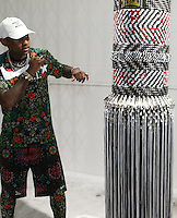 BRONX, NEW YORK - AUGUST 13, 2016 Fabolous attends Bacardi x Dean Collection No Commission Art event, August 13, 2016  in The Bronx, New York. Photo Credit: Walik Goshorn / Mediapunch