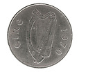 Old Irish Five Pence