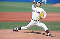 ?g?i?????N/Kentaro Yoshinaga (Waseda),.JUNE 18, 2012 - Baseball :.Kentaro Yoshinaga of Waseda University pitches during the 61st All Japan University Baseball Championship Series Final game between Asia University 0-4 Waseda University at Jingu Stadium in Tokyo, Japan. (Photo by Hitoshi Mochizuki/AFLO)