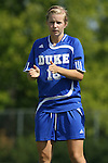 23 September 2007: Duke's Kelly McCann. The Duke University Blue Devils defeated the Ohio State University Buckeyes 2-1 at Koskinen Stadium in Durham, North Carolina in an NCAA Division I Women's Soccer game, and part of the annual Duke Adidas Classic tournament.
