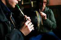Sunday session at the Cobblestone Bar, Smithfiseld, Dublin, Ireland.<br /> <br /> The Cobblestone has long been a bastion of the intimate old style music venue and is possibly Dublin's best traditional Irish music bar. The d&eacute;cor has all the charm and musty elegance of a country pub. The Cobblestone holds gigs throughout the week hosting some of the country's finest traditional and roots musicians and front bar always has a reserved section for any musician who wants to play.<br /> Pictures James Horan.<br /> <br /> &lt;a href=&quot;http://www.jameshoran.com.au&quot;&gt;www.jameshoran.com.au&lt;/a&gt;<br /> <br /> ALL MY IMAGES ARE COPYRIGHT<br /> NORMAL FEES WILL APPLY