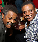 Ray Athony Thomas and Harvy Blanks attends the 2017 New York Drama Critics' Circle Awards Reception at Feinstein's / 54 Below on 5/18/2017 in New York City.