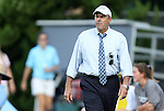 26 August 2012: UNC assistant coach Bill Palladino. The University of North Carolina Tar Heels defeated the University of Montreal Caribins 1-0 in overtime at Fetzer Field in Chapel Hill, North Carolina in an international women's collegiate friendly game.