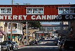 Monterey, CA.  Cannery Row.