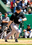 21 May 2007: Toronto Blue Jays outfielder Adam Lind in action against the Baltimore Orioles at Doubleday Field during Baseball's Annual Hall of Fame Game in Cooperstown, NY. The Orioles defeated the Blue Jays 13-7 in front of a sellout crowd of 9,791 at the historical ballpark...Mandatory Credit: Ed Wolfstein Photo