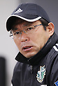 Yasuharu Sorimaschi head coach (Matsumoto Yamaga), April 27, 2012 - Football / Soccer : 2012 J.LEAGUE Division 2, 10th Sec match between FC Machida Zelvia 0-1 Matsumoto Yamaga F.C. at Machida Stadium, Tokyo, Japan. (Photo by Yusuke Nakanishi/AFLO SPORT) [1090]