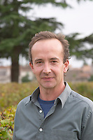 Nicolas Heeter-Tari. Owner. Chateau Nairac, Barsac, Sauternes, Bordeaux, France