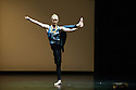 """London, UK. 22.06.2014. Eastman/Sidi Larbi Cherkaoui presents """"4D"""", a compilation of duets from his work, as part of Sadler's Sampled, a two week taster festival of dance at low prices, which runs to 29th June. Picture shows: """"Matter"""" with Guro Nagelhus Schia and Kazutomi ' Tsuki' Kozuki. Photograph © Jane Hobson."""