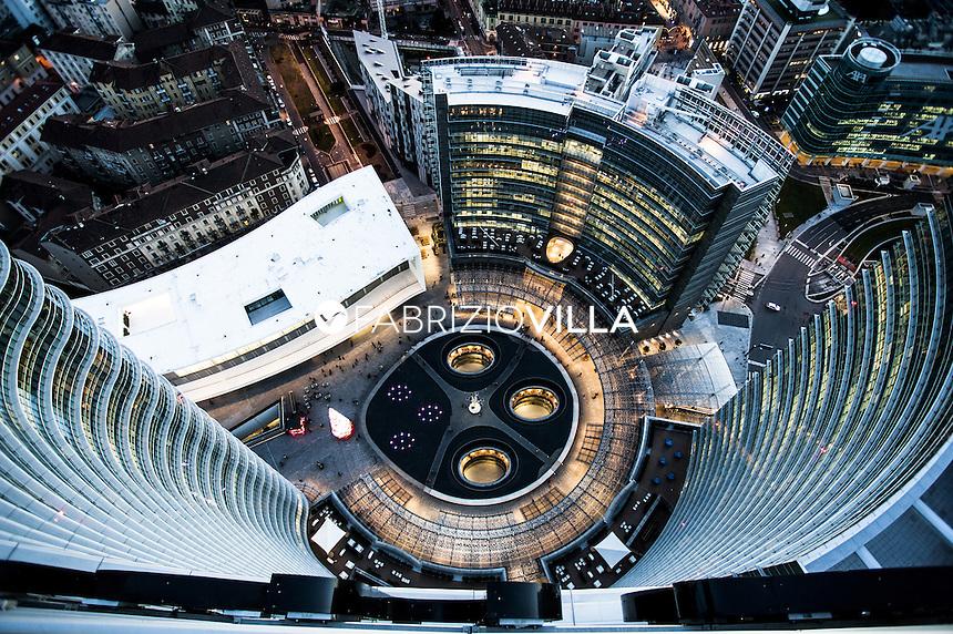 Milano vista dalla torre Unicredit