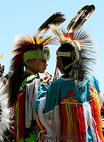 KEEPING TRADITION,indian children at the marksville pow wow