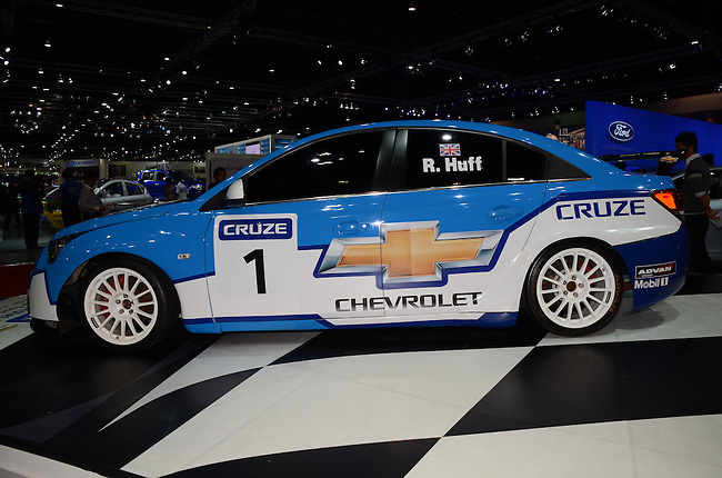 Rob Huff's WTCC Chevrolet Cruze