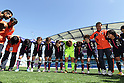 Japan team group (JPN), MARCH 7, 2012 - Football / Soccer :  Algarve Women's Football Cup 2012 final match between Germany 4-3 Japan at Algarve Stadium, Faro, Portugal. (Photo by AFLO) [2268]